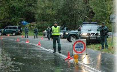 Egunero 10 kontrol jarri zituzten iaz Espainiako poliziek EAEko errepideetan