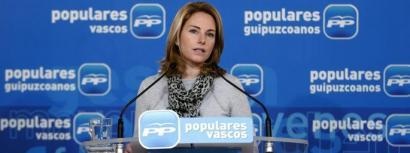 Arantza Quiroga da EAEko PPren presidentea. (Argazkia: eldiario.es).