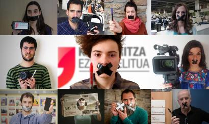 Hundreds of Basque journalists unite against Spanish Government's Gag Law
