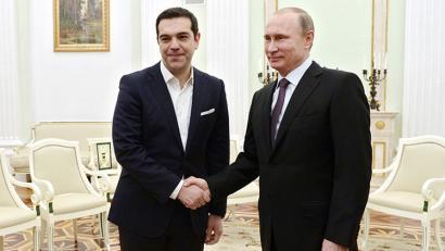 Zeren bila joan da Alexis Tsipras Moskura?