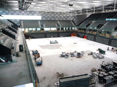 55 milioi kostatu den Navarra Arena behingoz amaitzeko eskatu du Kontuen Ganberak