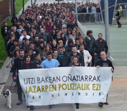 O�atiko atxiloketa bortitzarengatik kontuak eskatu ditu Amaiurrek Espainiako Kongresuan