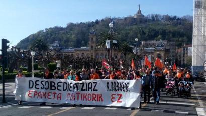 Euskal Herri osoko Herri Harresia nola sortu aztertu dute Konpromiso Egunean