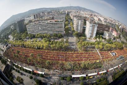 Kataluniako errepublikaren hamar ardatzak irudikatuko dituzte Diadako mobilizazioan
