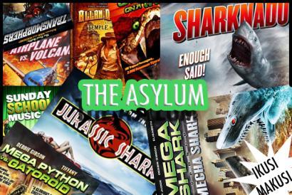 The Asylum: zentzugabekeriak, film baten izena duenean