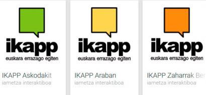 IKAPP, euskaraz trebatu eta Araba ezagutzeko jolasak