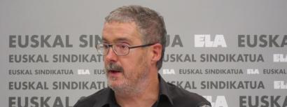 Mu�oz: �Jaurlaritzak aitortu digu Confebaskek ELA eta LAB legez kanpo utzi nahi zituela�