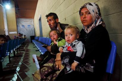 Herrialde aberatsek Siriako milioi bat errefuxiatu onartu behar dute, dio NBEren ordezkariak