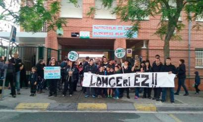 LOMCEren aurkako protestak Nafarroan, 3. mailako azterketen lehenengo egunean