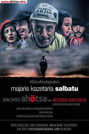 Ahotsa.info indartzeko asmoz, 500 akziodun lortzeko kanpaina martxan
