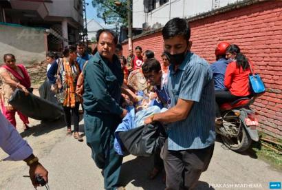 Lurrikara handia izan da Nepalen, duela bi astekoak gehien zigortutako zonaldean