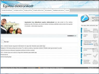 Administrazio elektronikoa: aukerak eta arriskuak