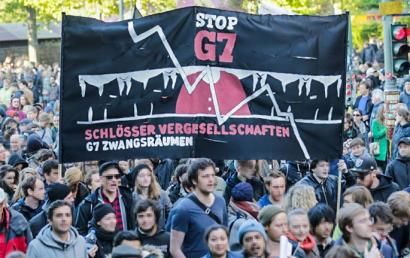 Gaztelu batean bilduko da G7a protestaz inguratuta