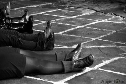 Women In Black: Indarkeria matxista ikusarazteko performancea