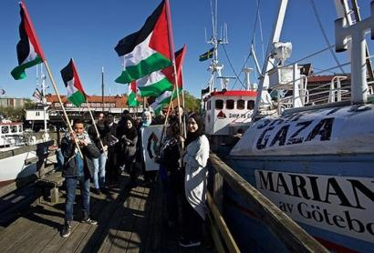 Palestinara doa berriro ere Askatasunaren Ontzidia