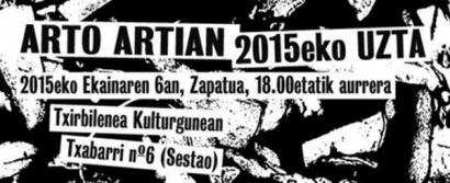 Arto Artian festa 2015: abangoardia musikalarekin zita