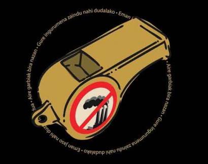 Larunbatean protestak Donostian errauskailuaren eta AHTaren kontra