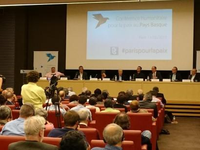 Bake prozesua desblokeatzeko saioa Parisko Asanblea Nazionalean