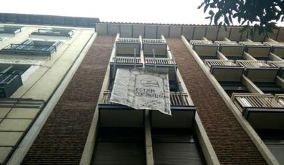 Beste eraikin bat okupatu dute Madrilgo Patio Maravillaseko kideek