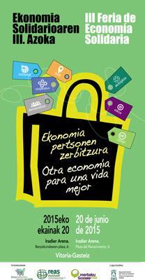 Larunbatean Ekonomia Solidarioaren Topaketak Gasteizen