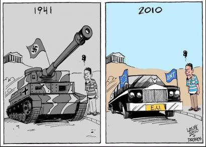 Greziako erreferenduma iruditan