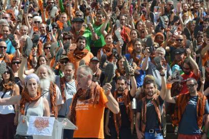 Askapena epaitzearen aurka Espainiako Estatuaren kontrako 'herri epaiketa'