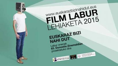 Abian da 'Euskaraz bizi nahi dut' film labur lehiaketa
