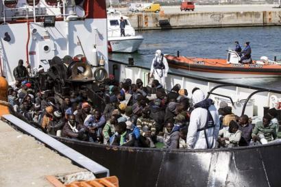 1.700 lagun erreskatatu dituzte Mediterraneoan, horietatik hamabi hilda