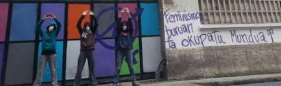 Okupazio feminista Bilboko Errekalde auzoan