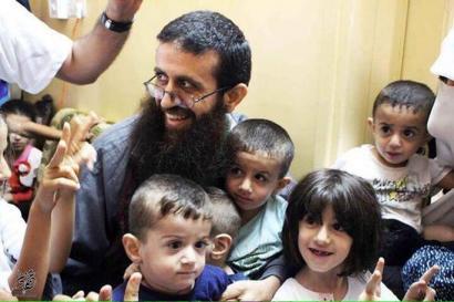 Libre utzi eta ordu gutxira atxilotuta izan dute Khader Adnan palestinarra