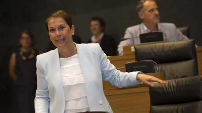 Uxue Barkos Nafarroako lehendakari