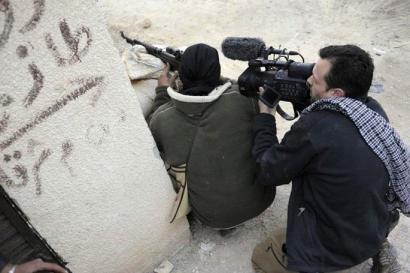 Kazetarien desagerpena Sirian: zer dago Freelance-aren atzean?