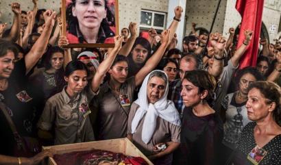PKK-k bertan behera utzi du Turkiarekin zuen su etena