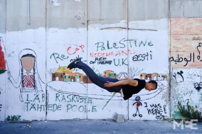 Israelen okupazioaren gainetik salto