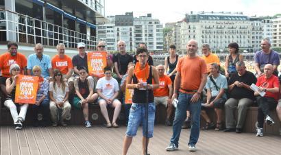 Manifestazioa deitu dute Donostian Herriko tabernen itxiera salatzeko abuztuaren 8an