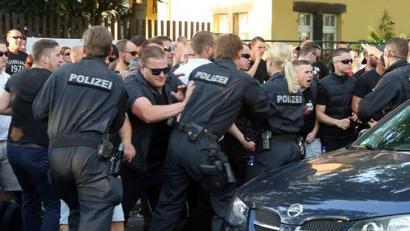 Alemanian errefuxiatuei sei hilabeteetan 173 eraso