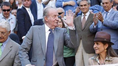 Espainiako Errege ohia Donostian izango da zezenketen itzuleran