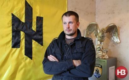 Neonazi ukraniar bat Europar Parlamentuan gonbidatuta
