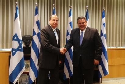 Israelek eta Greziak akordio militarra sinatu dute
