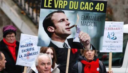 Macron legea onartu du Frantziako Kontseilu Konstituzionalak