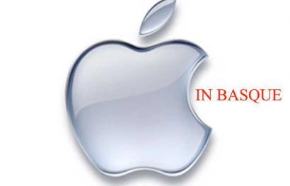 Apple-en produktuak euskaraz eskatzeko 27.000 sinaduratik gora bildu dituzte