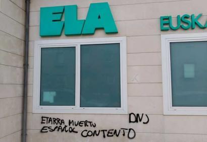 Margoketa faxistak ELAren Nafarroako egoitzan