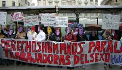 Amnistia Internazionala prostituzioa despenalizatzearen alde