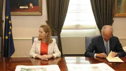 AHTren lanetan 149 milioi euroko irregulartasunak onartu ditu Adifek
