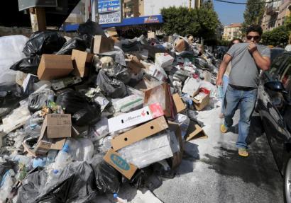 Libanon zaborren kontrako protestek piztu dute krisi politiko nahasiagoa