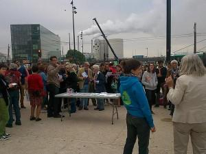 Parisen ere berotzen ari da �errausketa versus gaikako bilketa� eztabaida