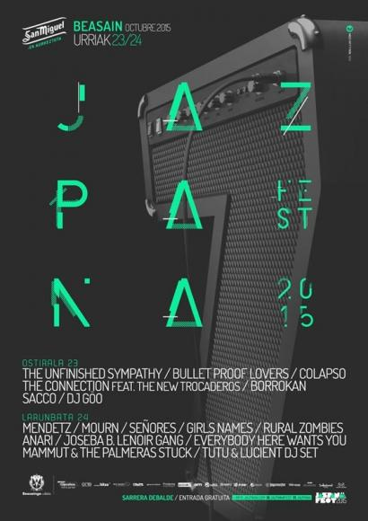 Jazpana! Fest 2015 jaialdiak aurtengo kartela jakinarazi du