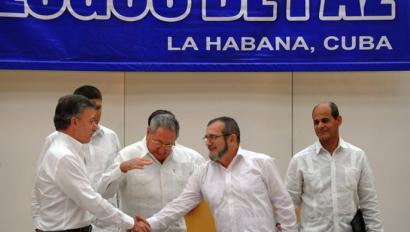 Lehen bake akordioak lortu dituzte Gobernuaren eta FARCen artean