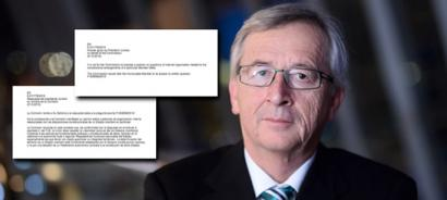 Zer gertatu da Europako Parlamentuan Junckerren adierazpenen itzulpenekin?