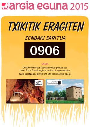 Zenbaki saritua: 0906